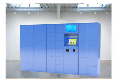 China Intelligent Customization Fresh Vegetable Automated Locker System With Refrigerator factory