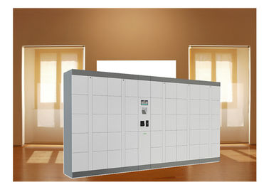 China Supermarket Smart Luggage Lockers For Buggage , Package Storage Lockers With Remote factory