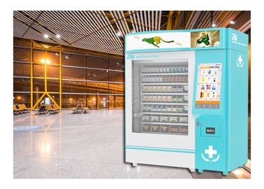 China Different Size Medication Vending Machine With 22 Inch Large Advertising Screen factory