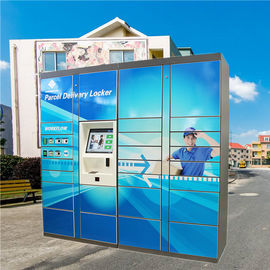 China Cold Rolled Steel Mail Locker , Post Box Lockers For Outdoor Logistic factory