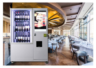 China Glass Bottle Wine Vending Machine With Lift And Conveyor System For High-end Hotel Restaurant factory