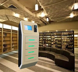 China Coin Operated MCU System Multiple Cell Phone Charging Station USB Charging Station Kiosks with 4 Lockers factory