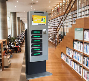 China Winnsen High End Vending Public Mobile Phone Charging Kiosk Floor Standing factory
