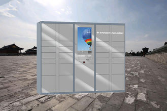 China User Friendly Post Parcel Delivery Lockers , Electronic Durable Self Service Locker factory