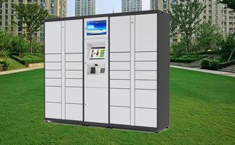 China Parcel Package Delivery Locker Intelligent For Public Express , OEM Color factory
