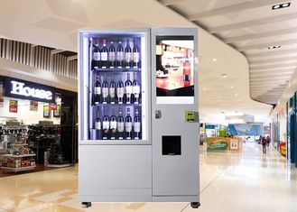 China Bottles / Cans / Snacks Mini Mart Vending Machine Customed with Network LCD Advertising Display factory