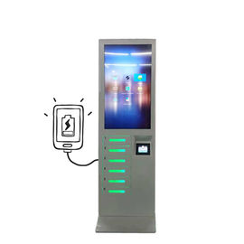 China Restaurant Multiple Cell Phone Mobile Phone Charging Stations Locker Kiosk Vending Machine factory