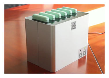 China New Battery Design Mobile Phone Charging Station, Share Power Bank Station with 6 Slots for 6 Power Bank factory