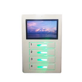 China Wall Mount Multi Device Charging Locker Smart Cell Phone Free Charging Station factory