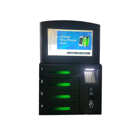 China Touch Cell Phone Charging Stations With LCD Advertising Player For Restaurant factory