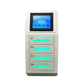 China Wall Mounted Mobile Phone Charging Station with 4 Digital Lock Doors For Bank Supermarket Airport factory