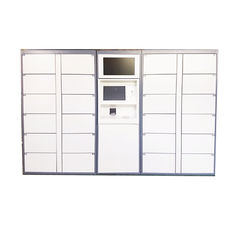 China CE / FCC Certified Computer Based Electronic Key Left Luggage Storage Lockers for Public factory