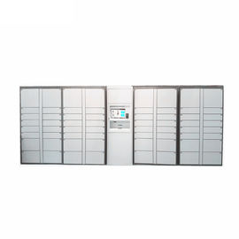 China Coins Bills Operated Electronic Durable Metal Storage Doors Luggage Lockers Airport Rental Locker For Public factory
