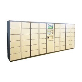 China Cabinet Design Delivery Parcel Collection Lockers With Mixed Door Sizes factory