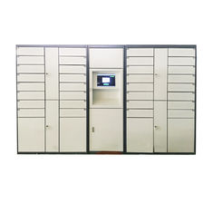 China CE FCC Certified Vertical Digital Steel Automated Parcel Collection Lockers For Delivery Service factory