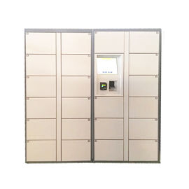 China Customized Size Electronic Barcode Laundry Locker for Dry Cleaning Shop with Credit Card Reader factory