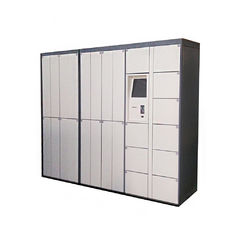China CE FCC Certified 24/7 Dry Cleaning Locker Systems Laundry Service with Locker Status Report For School Apartment factory