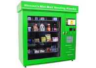 CE Mini Mart Vending Machine , Retial Kiosk Solutions for Selling Different Package Size Goods supplier