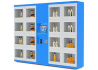 China 24 Hours Self Service Wine Vending Machine With Network Wifi Remote Control factory