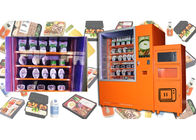 China Airport Custom Microwave Sandwich Vending Machine With Sales Report , Automated Kiosk factory