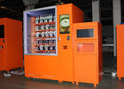 China Salad Juice Health Diet Food Drink Vending Machine / 24 Hours Mini Mart Vending Kiosk factory