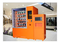 China Convenience Store Shop Heat Hot Food Vending Machine With Microwave And Cooler System factory