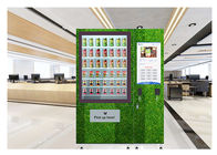 Floor Stand 24 Hours Auto Salad Vending Machine With Coin Bill Card Payments supplier