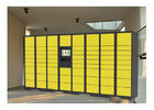 Electronic Storage Luggage Lockers With Coin / Bill / Credit Card Payment Model