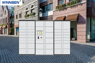 China Delivery Intelligent Parcel Locker Box , Durable Metal Postal Delivery Locker factory