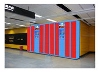 China Event Industry Rental Luggage Lockers Furniture Money Payment Coin / Bill Operated factory