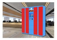 China PIN Code Barcode Smart Luggage Lockers / High End Electronic Storage Airport Lockers factory