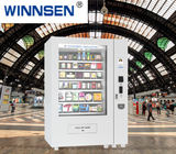 China Chocolate Bar Cola Mix Selling Food Vending Machine Kiosk With Touch Screen factory