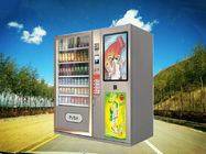 China Big Stock Automatic Cold drinks Beverage Cakes Baked Food Gifts Vending Machine Kiosk with Professional Elevator System factory