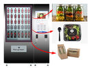 Healthy Food Vending Locker , Salad Vending Machine With Remote Control System supplier