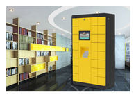 High Tech Storage Luggage Lockers With Stainless Steel And Income Report Function