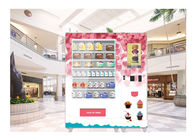 China Cash Card Payment Cookie Cupcake Vending Machine With Remote Network Management System factory