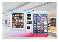 China Smart Robotic Customized Mini Mart Vending Machine Locker Dual Cabinet factory