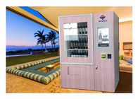 Smart Mini Fresh Salad Wine Glass Bottle Vending Machines With Lift And Conveyor System supplier