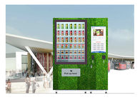 QR Code Fresh Fruit Food Salad Vending Machine Refrigerator With Touch Screen supplier