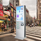 China 6 Port Coin Operated Cell Phone Charging Stations , Cell Phone Charging Booth factory