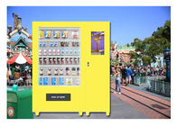 Children Beverage And Snack Milk Vending Machines With CE FCC Certificate