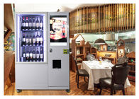 Smart Mini Fresh Salad Wine Glass Bottle Vending Machines With Lift And Conveyor System