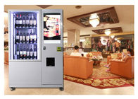 China Alcohol Salad Juice Vending Machine With Elevator , Automated Self Service Vending Machines factory