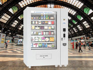 Chocolate Bar Cola Mix Selling Food Vending Machine Kiosk With Touch Screen supplier