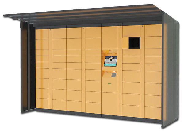 7 x 24 Hours Outdoor Water Proof Automated Parcel Locker Boxes Secured Electronic
