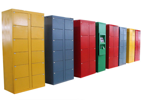 Waterpark / Ocean Park Luggage Lockers Device Rental with 15 inch Touch Screen Pinpad supplier