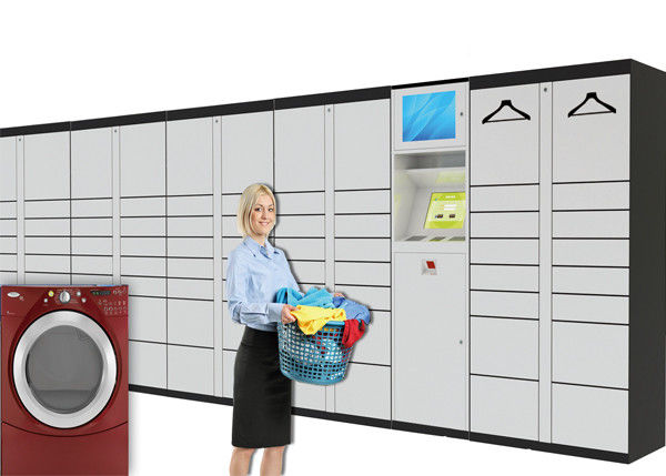 Smart Electronic Storage Laundry Locker , Self Service Delivery Lockers Waterproof Customized supplier