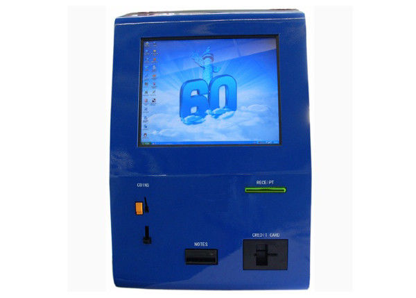 Automated Payment Kiosk with Touch Screen , Cash / Card Accepted Computer Kiosks Terminal supplier