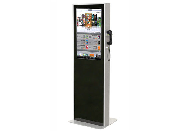 32 Inch Interactive LCD Digital Signage , Semi Outdoor Digital Signage Kiosks Machine supplier