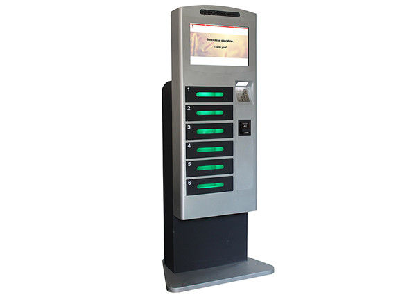 Public Mobile Cell Phone Charging Station Kiosk Banknote